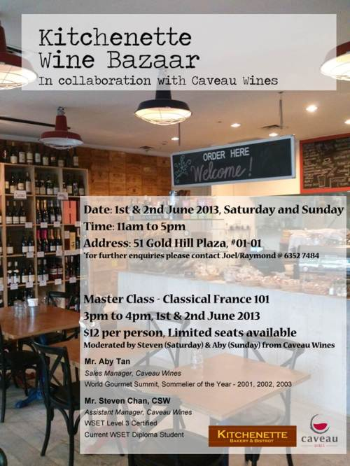 Wine Bazaar and Masterclass!