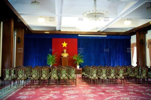 Reunification palace in Ho Chi Minh city, Vietnam, Asia