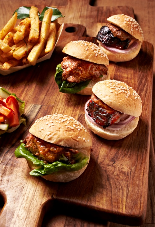 asia's ultimate star burger Platter 23043