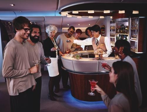 First Class & Business Class Onboard Lounge(4)