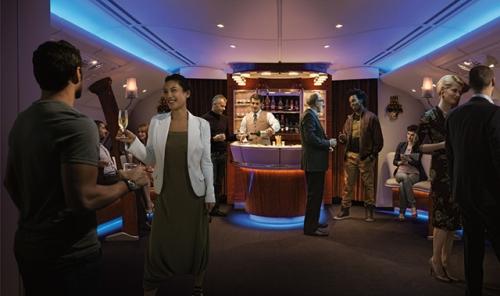First Class & Business Class Onboard Lounge(5)